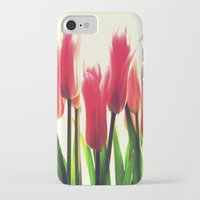 tulips iPhone & iPod Cases featuring Tulips by 2sweet4words Designs
