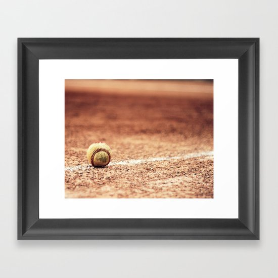 Fair Ball fine art photography Framed Art Print