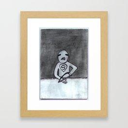 Self Amputation 1 Framed Art Print