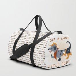 Get A Long Little Doggie Duffle Bag