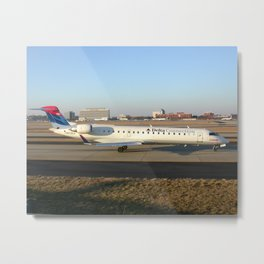 Delta Connection (Comair) CRJ-700 Metal Print