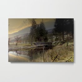West End Bridge Metal Print