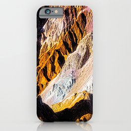 Artist Palette in California's Death Valley National Park. iPhone Case