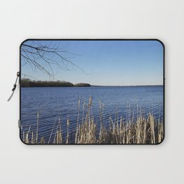 """""""Incredi-blue"""" lake view - Lake Mendota, Madison, WI Laptop Sleeve"""