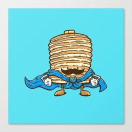 Captain Pancake's Mustache Canvas Print