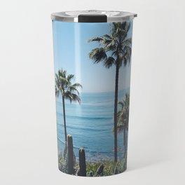 Laguna Beach Palms Travel Mug