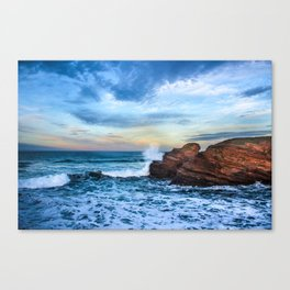 The surf Canvas Print