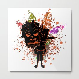 The Evil and the Spirit Metal Print