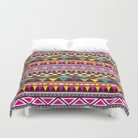 aztec Duvet Covers featuring AZTEC by Acus
