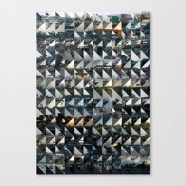 Commuter Quilt Canvas Print