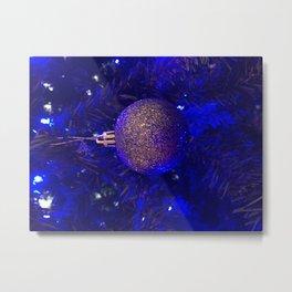 Christmas ornament Metal Print
