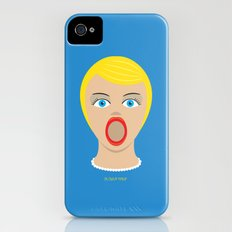 Blow Up Pin Up iPhone (4, 4s) Slim Case