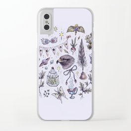 Ravenclaw, Creativity and Wit Clear iPhone Case