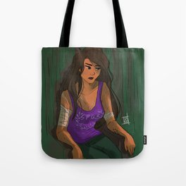 even heroes cry Tote Bag