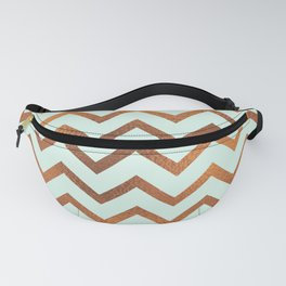 Mint With Blush Rose Gold Fanny Pack