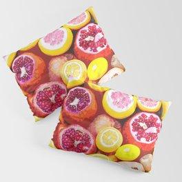 Lots of Kiwi and Oranges Pillow Sham