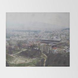 Ancient Modernity Throw Blanket