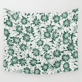 Foliage green Wall Tapestry