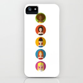 SPICE GIRLS ICONS iPhone Case