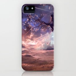 It made scars in the sky  iPhone Case