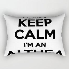I cant keep calm I am an ALTHEA Rectangular Pillow