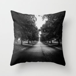 The Lone Walk Throw Pillow