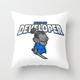 Awesome Mobile App Developer Throw Pillow