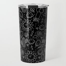 Time Garden Sketch Travel Mug