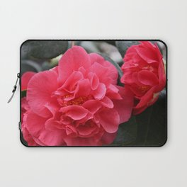 Pink Camellias Laptop Sleeve