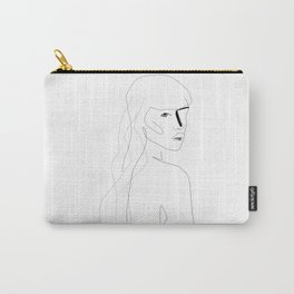 Face Of Art Carry-All Pouch