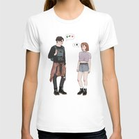 college T-shirts featuring X-Files College AU by vulcains