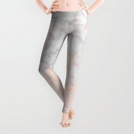 Rosette Marble Leggings