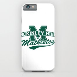 McKinley High Mathletes iPhone Case