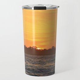 Tybee Island Sunset Travel Mug
