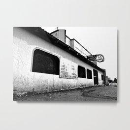 Empty pawn shop Metal Print