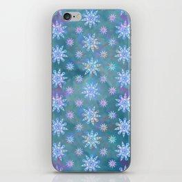 Mela's Sense of Snow iPhone Skin