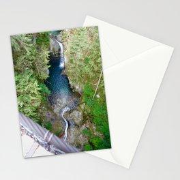 lynn canyon suspension bridge, 2017 Stationery Cards