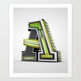 Typographic posters III Art Print