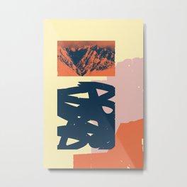 Malvarma Montoj Metal Print