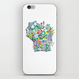 Wisconsin Wildflowers iPhone Skin