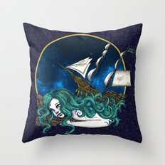 That Ship has Sailed Throw Pillow