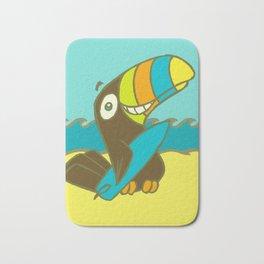 Surfin' Toucan! Bath Mat
