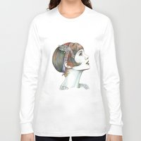 gatsby Long Sleeve T-shirts featuring Carey Gatsby by ShayMacMorran