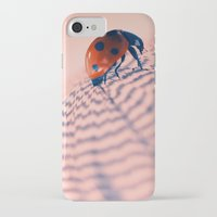 beetle iPhone & iPod Cases featuring beetle by Tanja Riedel