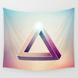 Penrose Triangular Universe Wall Tapestry