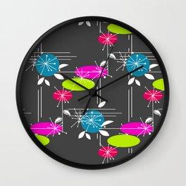 Retro . Black . Wall Clock