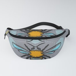We are Bees - Scandinavian Color Pastel Blue Fanny Pack