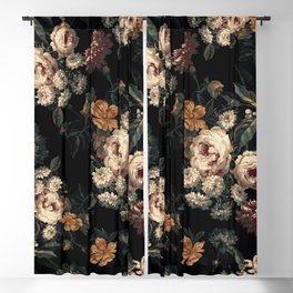 Midnight Garden XIV Blackout Curtain