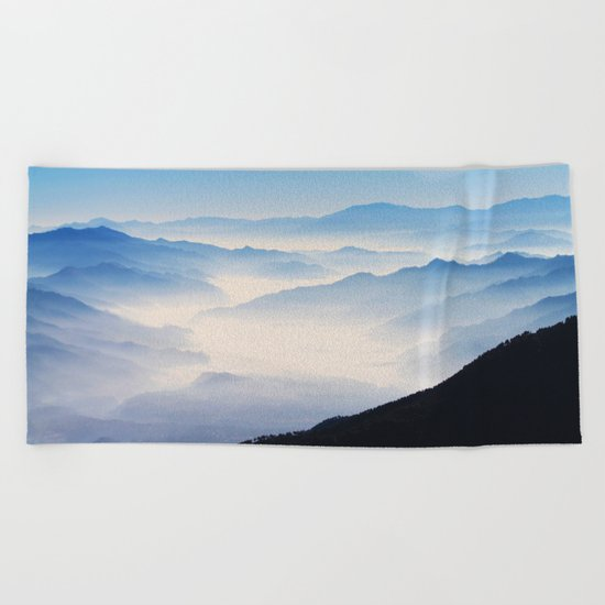 Inhale Beach Towel