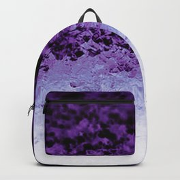 Purple Crystal Ombre Backpack